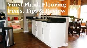 Grip Strip Vinyl Flooring by Vinyl Plank Flooring Review Youtube