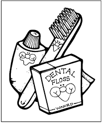 Dental Health Coloring Page From Makingfriends Prefect For Your Purple Petal