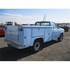 100 Ford F250 Utility Truck 1987 Pickup