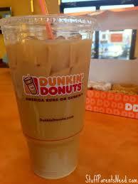 Dunkin Donuts Iced Coffee 1