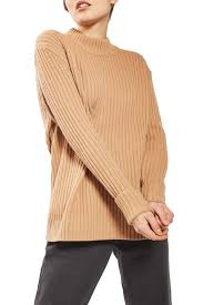 TOPSHOP Cutout Wool Sweater