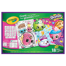 314991 SHOPKINS GIANT COLOURING PAGES