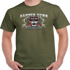 Trucker T Shirt Hammer Down Truck Shirts Truckers Lorry Driver ... Truck Treeshirt Madera Outdoor 3d All Over Printed Shirts For Men Women Monkstars Inc Driver Tshirts And Hoodies I Love Apparel Christmas Shorts Ford Trucks Ringer Mans Best Friend Adult Tee That Go Little Boys Big Red Garbage Raglan Tshirt Tow By Spreadshirt American Mens Waffle Thermal Fire We Grew Up Praying With T High Quality Trucker Shirt Hammer Down Truckers Lorry Camo Wranglers Cute Country Girl Sassy Dixie Gift Shirt Because Badass Mother Fucker Isnt