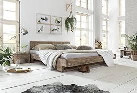 woodkings bett 180x200 mayfield doppelbett akazie weiß gebürstet schlafzimmer massivholz design doppelbett naturmöbel echtholzmöbel günstig