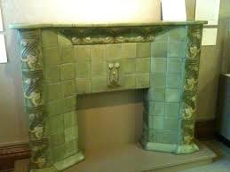 pioneer museum briggle tiles fireplace exle picture of