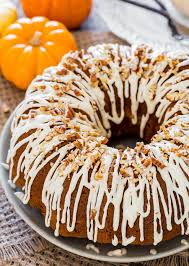 Pumpkin Spice Bundt Cake Using Cake Mix by Pumpkin Bundt Cake With Cream Cheese Filling Jo Cooks