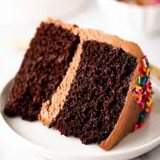 small chocolate cake