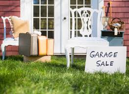 Garage Yard Sales Tax Issues Licenses and Permits