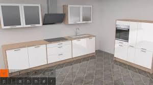 moderne zweizeilige küche innsbruck weiß hochglanz mit e geräten