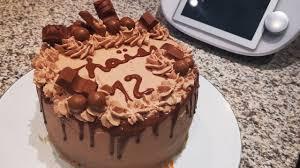 layer cake kinder bueno au thermomix cake