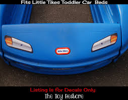 Lighting Mcqueen Toddler Bed by Replacement Decals Stickers Fits Little Tikes Tykes Toddler Car