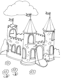 Castles Are A Popular Subject For Kids Coloring Sheets With Parents All Over The World Looking