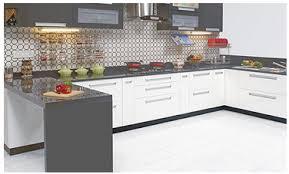 C Shape Kitchen Interior Design
