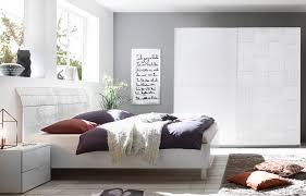 schlafzimmerset weiss matt siebdruck xaria4 designermöbel