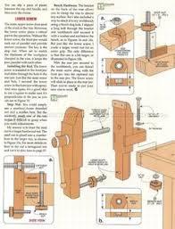 2256 bench vise plans workshop solutions 목공예 pinterest
