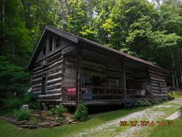 Authentic Hand Hewn 8 Person Log Cabin Rental in Hocking Hills