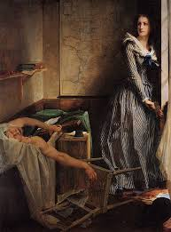 Charlotte Corday By Paul Jacques Aime Baudry Painted In 1860