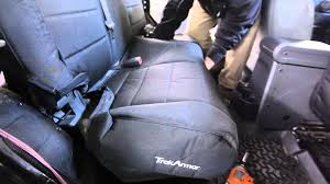 TREK ARMOR SEAT COVER INSTALL - Jk-Adventure.com - YouTube F150 Covercraft Front Seat Cover Seatsaver Chartt For 2040 Amazoncom 4knines Dog With Hammock For Full Size Tough As Nails Seat Covers With Heavy Duty Duck Weave Cordura Waterproof Covers By Shearcomfort Sale On Now 3 Row Car Faux Leather Luxury Top Quality Minivan Smittybilt 5661331 Gear Olive Drab Green Universal Truck Katzkin And Heaters Photo Image Gallery Camouflage Chevy Trucksheavy Duty Camo Bestfh Rakuten Black Burgundy Suv Auto Custom Trucks Realtree Low Back Bucket Saddleman Canvas