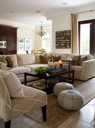 Love This Earth Toned Family Room