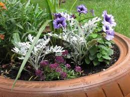 Creative Flower Planter Idea