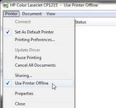 Also Is The Printer Giving A Valid IP Address Print Status Report By Going To Setup