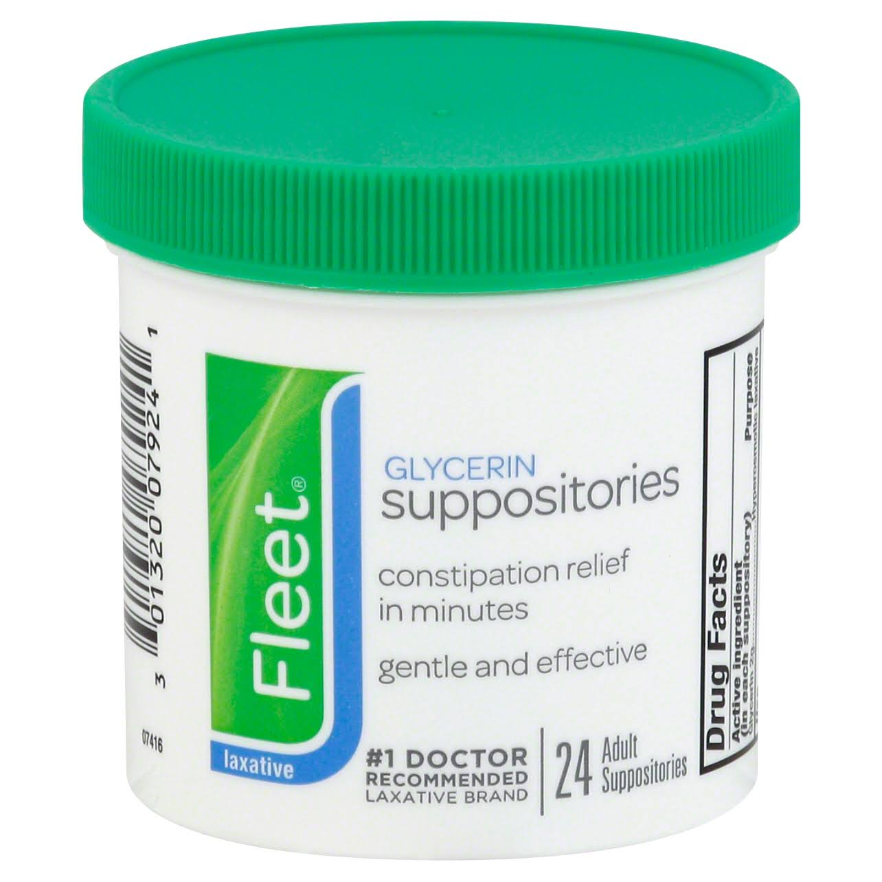 Fleet Glycerin Suppositories - 24 count