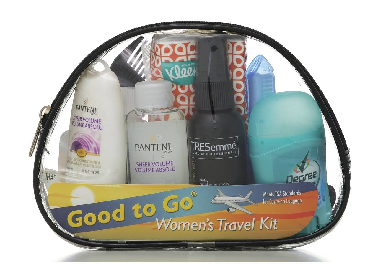 Good To Go Women's Travel Kit - 10pcs
