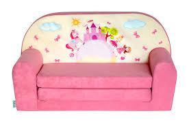 mini canapé lit enfant château rosefauteuils poufs matelas meubles