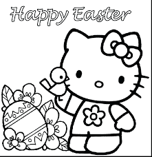 Easter Bunny Coloring Pictures To Print Religious Superb Kitty Pages Printable Activities Full Size