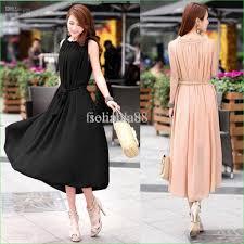 fashion chiffon women dress lady long casual dress maxi