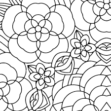 Flower Garden Mandala Printable Adult Coloring Page By Candy Hippie Candyhippie