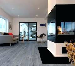 Grey Floor Living Room Wood In Hardwood Floors Interior Fireplace