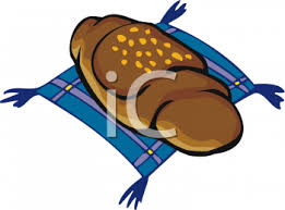 Clipart Picture Of A Chocolate Croissant On Napkin