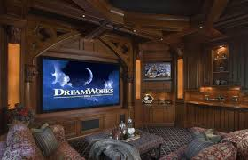 Exciting And Luxury Home Theatre Idea With Cozy Seating Design ... Home Theater Room Design Simple Decor Designs Building A Pictures Options Tips Ideas Hgtv Modern Basement Lightandwiregallerycom Planning Guide And Plans For Media Lighting Entrancing Rooms Small Eertainment Capvating Best With Additional Interior Decorations Theatre Decoration Inspiration A Remodeling For Basements Cool Movie Home Movie Theater Sound System