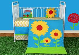 Bacati Crib Bedding by Snuggleberry Baby Sunflower Love 5 Piece Crib Bedding Set Wayfair