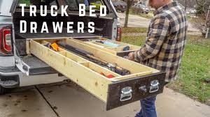 100 Truck Bed Slide Out How To Build Drawers SUV Drawer DIY YouTube