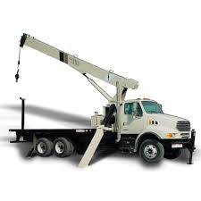 100 Truck Mounted Cranes Mounted Crane Boom Hydraulic 600E2 Manitowoc
