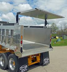 Aluminum Dump Truck Bodies | Heritage Truck Equipment