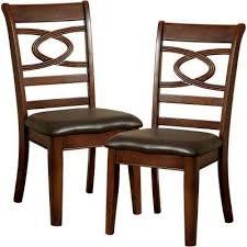 Carlton Warm Cherry Dining Chair Set Of 2