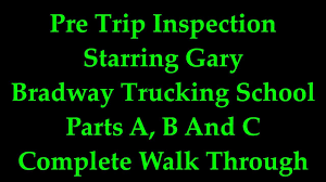 Pre Trip Inspection, NJ CDL A Test, Starring Gary, Bradway Trucking ... Bradway Trucking Inc Vineland Nj Rays Truck Photos Ritchie Holds Largestever Auction In Hartford Conn Cstruction Ceos Community Service Kreilkamp Truckload Refrigerated And Dry Van Carrier Untitled Trip To Lynn Mass Train For A New Career This Fall Us Department Of Transportation Federal Motor Safety Air Brake Test Cdl Youtube