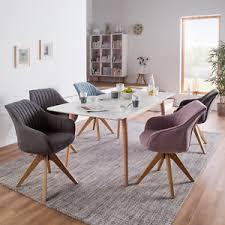 armlehnenstuhl ermelo drehbar webstoff eiche rosé stuhl