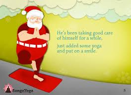 Santas Christmas Yoga Routine
