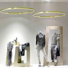 s luce ring s led hängeleuchte ø 40cm gold dimmbar