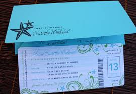 Image Of Diy Boarding Pass Wedding Invitations Images