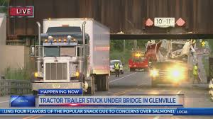 Tractor-trailer Stuck Under Glenridge Road Bridge, Road Closed Photos Columbus Bicycle Path Reopens After Semitruck Gets Stuck Carlisle Residents Fed Up Over Trucks Getting Under Bridge Another Look At The Truck I35 Closing Truck Stuck Under Bridge Fish Trail Lake Kxly Faq 11 Foot 8 Queens In Quebeyan The Age Meets Story Behind Spokanes Muchscarred On Campbell Avenue West Haven Watch Cherry Hill Durham Abc11com Tractor Trailer Wnepcom