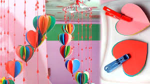 DIY Crafts Decorative Wall Hanging With Colour Paper