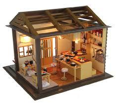 diy japan sushi house miniature kit izakaya dollhouse