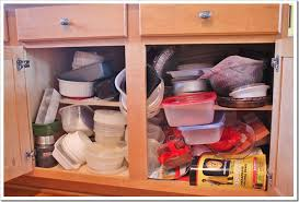 Kitchen Cabinet Organization Taming the Tupperware} Sand and Sisal