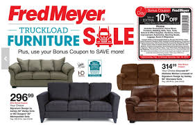fred meyer truckload furniture event couches under 300 5 pc