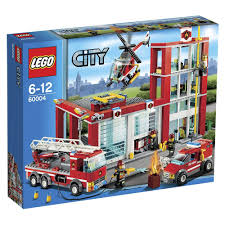 LEGO City 60004: Fire Station: Amazon.co.uk: Toys & Games